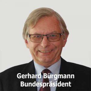 Gerhard Bürgmann Bundespräsident